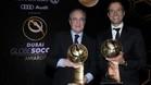 Florentino Pérez y Jorge Mendes, en Dubai