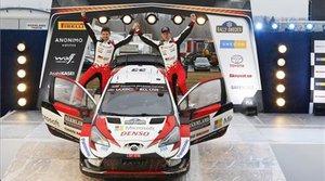 El galés Evans, con Toyota, es el líder del campeonato