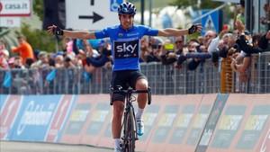 El Giro compensó a Landa con una victoria emblemática