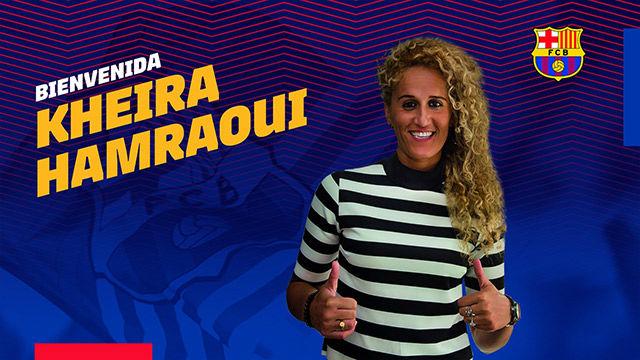 Hamraoui, segundo refuerzo del Barça femenino