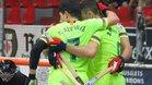 Imagen de la victoria del Barça Lassa