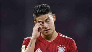 James Rodríguez está recibiendo muchas críticas