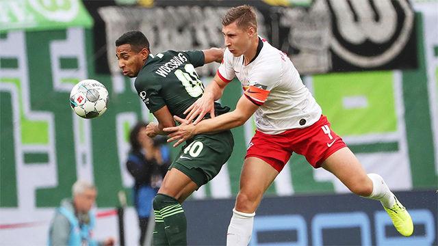 Joao Victor Santos Sá apareció en el segundo palo para empujarla y sellar el pase del Wolfsburgo