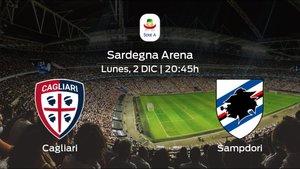 Jornada 14 de la Serie A: previa del duelo Cagliari - Sampdoria
