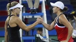 Kerber fue eliminada en Wuhan