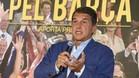 Laporta ha asegurado que Benedito y Freixa, las candidaturas con menor intención de voto, deberían retirarse