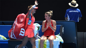 Lauren Davis salió ovacionada tras caer ante la número uno