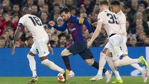 Leo Messi es la gran esperanza para superar los cuartos, como la pasada campaña ante el manchester United