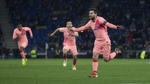 Leo Messi lidera la tabla de goleadores tras sus tres goles en el Ciutat de València