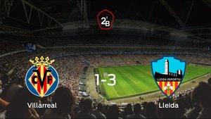 El Lleida Esportiu se lleva los tres puntos frente al Villarreal B (1-3)