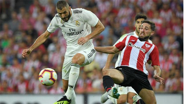 El Madrid pincha en San Mamés