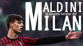 Maldini, la dinastía familiar del Milan