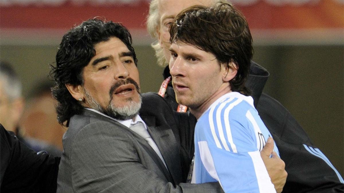 Maradona y Messi: los números de dos iconos argentinos