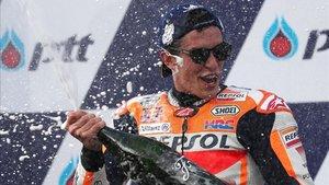 Marc Márquez, en busca de su quinta corona en Moto GP