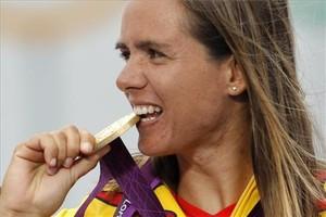 Marina Alabau, oro en RS:X