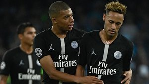 Mbappé y Neymar, protagonistas en el PSG