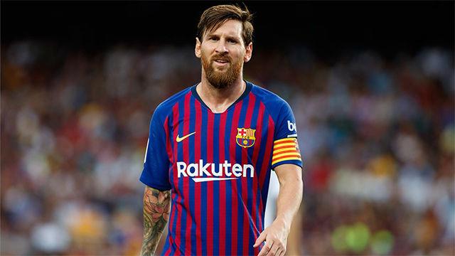 Messi llega al 100% para el partido contra la Real Sociedad