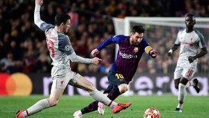 Messi no lo tendrá fácil en Anfield