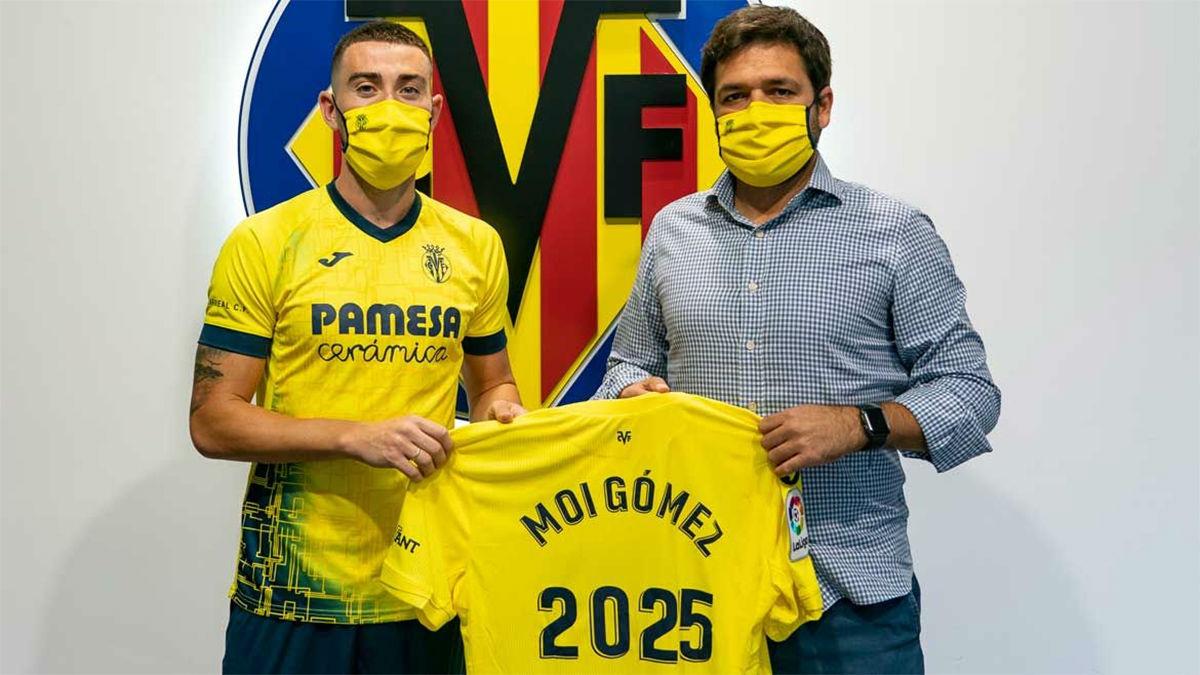 Moi Gómez renueva con el Villarreal