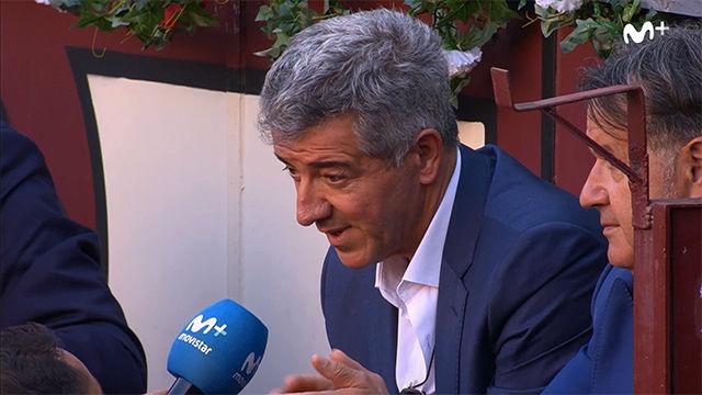 El momento en el que Gil Marín afirma que Griezmann irá al Barça