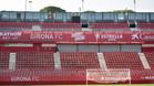 Montilivi estrenará una pequeña gradería superior en el Gol Sur en la visita del Madrid