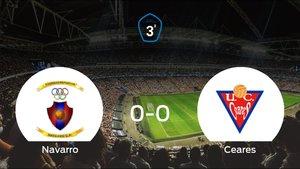 El Navarro y el UC Ceares logran un punto tras empatar a cero