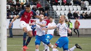 Noruega volvió a doblegar a Islas Feroe