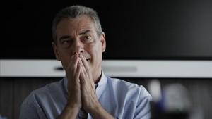 Pep Segura durante la entrevista concedida a Sport