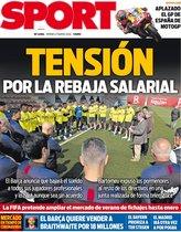 La portada de hoy