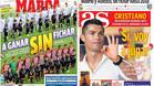 La prensa de Madrid no es critica con el Real Madrid por la sanción de la FIFA