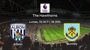 Previa del encuentro de la jornada 5: West Bromwich Albion - Burnley