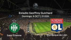 Previa del encuentro: el AS Saint Etienne recibe al Olympique Lyon en la novena jornada