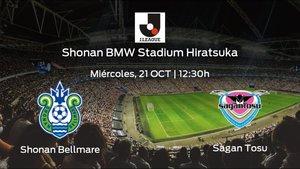 Previa del partido: Shonan Bellmare - Sagan Tosu