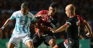 Racing y Colón igualaron por la Superliga Argentina