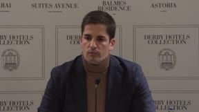 Robert Moreno contestó a Luis Enrique en una comparecencia en Barcelona