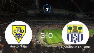 Sólido triunfo para el equipo local: Huétor Tájar 3-0 Alhaurín De La Torre