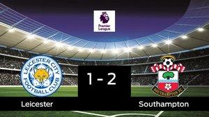 El Southampton venció en el estadio del Leicester
