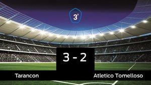 El Tarancon derrotó al Atletico Tomelloso por 3-2