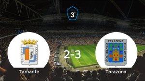 El Tarazona consigue los tres puntos después de vencer 2-3 al Tamarite
