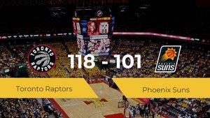 Toronto Raptors se hace con la victoria en el Scotiabank Arena contra Phoenix Suns por 118-101