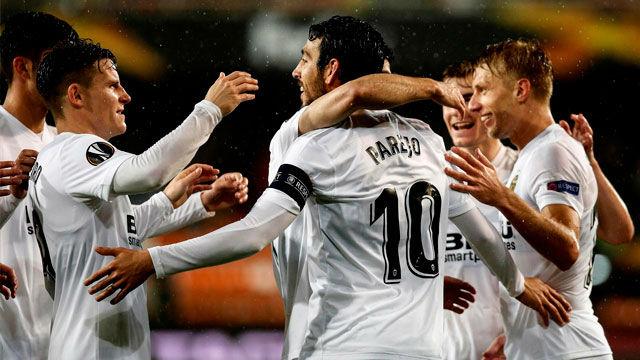El Valencia se reencontrará con un viejo conocido en la semis de la Europa League