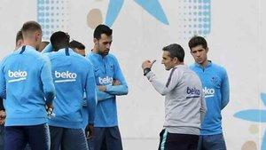 Valverde prepara el asalto a la final de Copa ante el Valencia