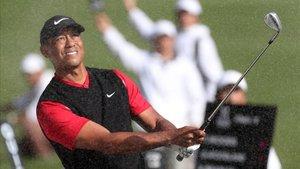 Woods, en el torneo de Chiba
