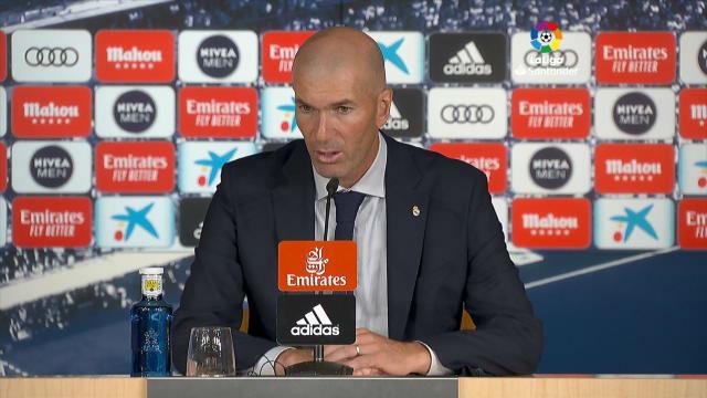 Zidane: Voy a insistir en que tenemos que jugar los 90 minutos