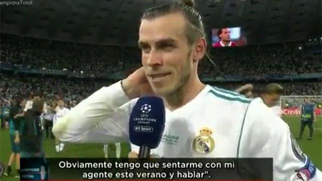 Bale también insinuó su posible marcha del Madrid