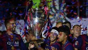 El FC Barcelona levantó en 2015 su última Champions League tras superar a la Juventus en la final de Berlin