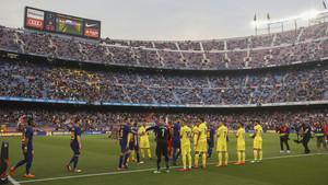 FC Barcelona 5 - Villarreal 1