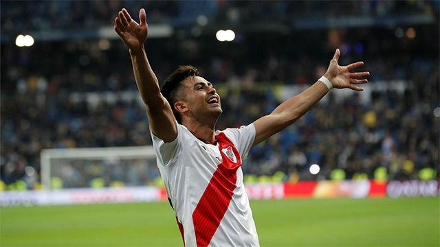 En el Bernabéu hay uno que hace las cosas que nadie imagina, la épica narración del gol de Quintero