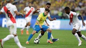 Brasil busca su Copa América