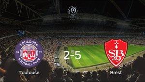 El Brest consigue una goleada en el estadio del FC Toulouse (2-5)